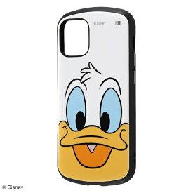 イングレム Ingrem iPhone 12 mini 5.4インチ対応 『ディズニーキャラクター』/耐衝撃ケース MiA/『ドナルドダック/フェイスアップ』 IN-DP26AC4/DDA1 『ドナルドダック/フェイスアップ』