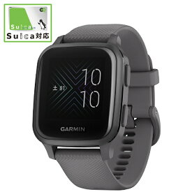 GARMIN ガーミン 010-02427-70 Venu Sq Shadow Gray/Slate【Suica対応】【ribi_rb】