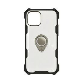 ラスタバナナ iPhone 12/12 Pro 6.1インチ対応 ToughRing HBケース ホワイト 5719IP061HB