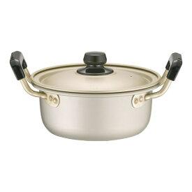 アカオアルミ AKAO ALUMINUM アカオ しゅう酸 実用鍋(硬質) 16cm <AZT8701>
