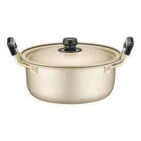 アカオアルミ AKAO ALUMINUM アカオ しゅう酸 実用鍋(硬質) 20cm <AZT8703>