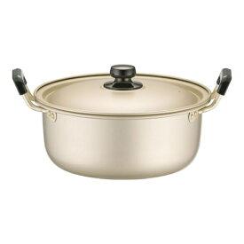 アカオアルミ AKAO ALUMINUM アカオ しゅう酸 実用鍋(硬質) 24cm <AZT8705>