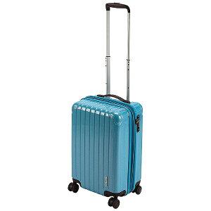 キャプテンスタッグ CAPTAIN STAG パルティール スーツケースTSAロック付きWFタイプS ファインブルー UV-0072