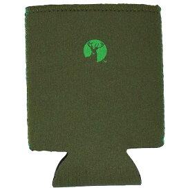 キャプテンスタッグ CAPTAIN STAG CS ソフト缶ジャケット(オリーブ×グリーン) UE-4917