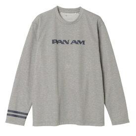 ミズノ mizuno 男女兼用 Tシャツ PANAM ブレスサーモライトインナークルー(XLサイズ/杢グレー) B2JA0594