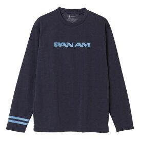 ミズノ mizuno 男女兼用 Tシャツ PANAM ブレスサーモライトインナークルー(XLサイズ/エクリプスネイビー) B2JA0594