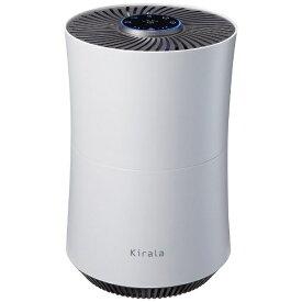 Kirala キララ ハイブリッド空気清浄機 Kirala Air Prato(プラット) ホワイト KAH-106-WH [適用畳数:8畳 /PM2.5対応]【rb_air_cpn】