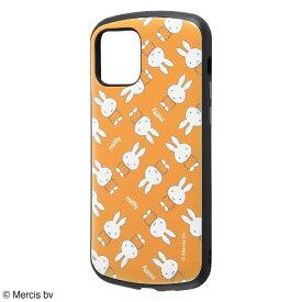 イングレム Ingrem iPhone 12/12 Pro 6.1インチ対応 『ミッフィー』/耐衝撃ケース MiA/『オレンジ/ミッフィー総柄』 IN-BP27AC4/MFB1 『オレンジ/ミッフィー総柄』