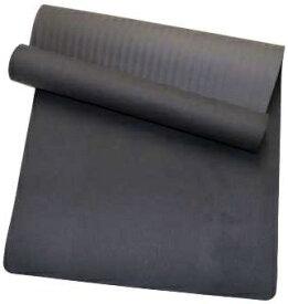 SOFTOUCH ソフタッチ ヨガマット 6mm シングルカラー(約長さ183cm×幅61cm×厚さ6mm/ブラック) SO-MAT69