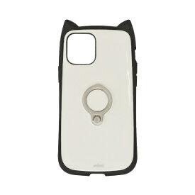 ラスタバナナ iPhone 12/12 Pro 6.1インチ対応 mimi RING ブラック×ホワイト 5742IP061HB