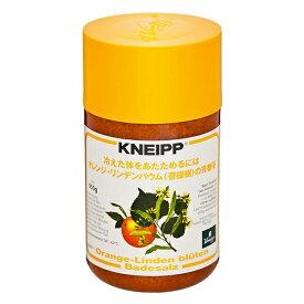クナイプジャパン Kneipp Japan KNEIPP(クナイプ) バスソルト オレンジ・リンデンバウムの香り 850g〔入浴剤〕