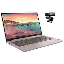レノボジャパン Lenovo 81UM0022WR ノートパソコン+ウェブカメラ ideapad S340 プラチナグレー [13.3型 /intel Core i5 /SSD:512GB /メモリ:8GB /2020年12月モデル]【point_rb】