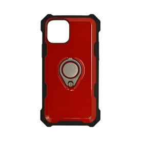 ラスタバナナ RastaBanana iPhone 12 mini 5.4インチ対応 ToughRing HBケース レッド 5621IP054HB