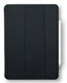 BUFFALO バッファロー 10.9インチ iPad Air(第4世代)用 ハイブリッドマットレザーケース ブラック BSIPD20109CHLBK