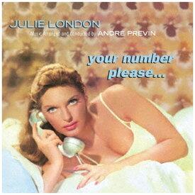 日本クラウン NIPPON CROWN JULIE LONDON(vo)/ Your Number, Please...【CD】
