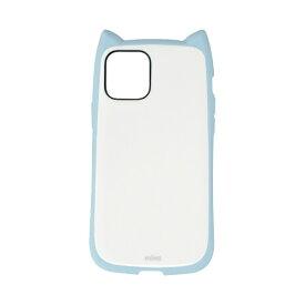 ラスタバナナ RastaBanana iPhone 12 mini 5.4インチ対応 VANILLA PACK mimi ライトブルー×ホワイト 5640IP054HB