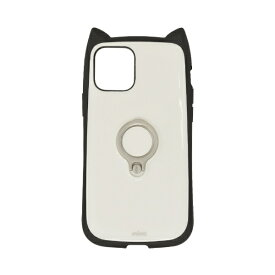 ラスタバナナ RastaBanana iPhone 12 mini 5.4インチ対応 mimi RING ブラック×ホワイト 5643IP054HB
