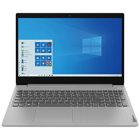 レノボジャパン Lenovo 81W100YRJP ノートパソコン IdeaPad Slim 350 プラチナグレー [15.6型 /SSD:256GB /メモリ:4GB /2020年12月モデル]