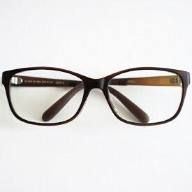 TAGlabel by amadana タグレーベル バイ アマダナ 【花粉・アレルギー対策グッズ】protective eye wear(マットブラウン)AT-WEP-03 MBR[度付きレンズ対応]