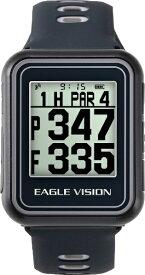 朝日ゴルフ用品 ASAHI GOLF GPSゴルフナビゲーションウォッチ EAGLE VISION -watch5-(ブラック) EV019