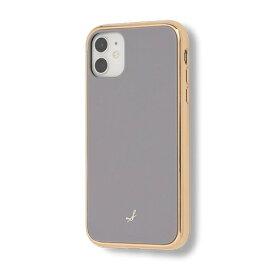 HAMEE ハミィ [iPhone 11専用]salisty(サリスティ)マットカラー耐衝撃ハードケースS-HC007K salisty グレー 41-925140
