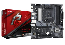ASROCK アスロック マザーボード A520M Phantom Gaming 4 [MicroATX /Socket AM4]