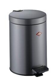 Wesco ウェスコ ペダルビン&プラスチックライナー5L -104 メタリックグラファイト 104012-13 [5L /ペダル式]