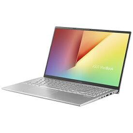 ASUS エイスース X512DA-BC884TS ノートパソコン VivoBook 15 X512DA トランスペアレントシルバー [15.6型 /AMD Ryzen 5 /SSD:512GB /メモリ:8GB /2020年12月モデル]【point_rb】
