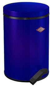 Wesco ウェスコ ペダルビン&プラスチックライナー13L -117 ブルー 117212-53 [13L /ペダル式]