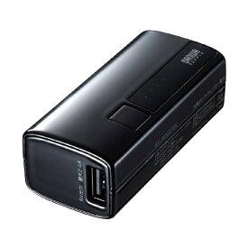 サンワサプライ SANWA SUPPLY モバイルバッテリー ブラック BTL-RDC21BK [5000mAh /2ポート /充電タイプ]
