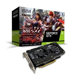 ELSA エルザ グラフィックボード GeForce GTX 1650 SAC DUAL GD16504GERSDD6 [4GB /GeForce GTXシリーズ]