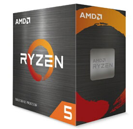 AMD エーエムディー 〔CPU〕AMD Ryzen 5 5600X With Wraith Stealth Cooler (6C/12T3.7GHz65W)【CPUクーラー付属】 100-100000065BOX