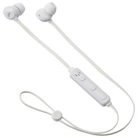 オーム電機 OHM ELECTRIC ブルートゥースイヤホン カナル型 ホワイト HP-W172N-W [リモコン・マイク対応 /ワイヤレス(左右コード) /Bluetooth]