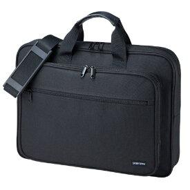 サンワサプライ SANWA SUPPLY ノートパソコン対応[〜17.3インチ] キャリングバッグ ブラック BAG-U59BK