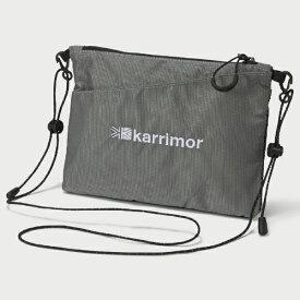 Karrimor カリマー dual sacoche デュアル サコッシュ(H16×W22cm/グレー) 501022 1100