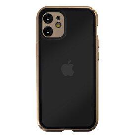 サムライワークス SAMURAI WORKS iPhone12/12Pro 360°両面保護バンパーケース GOLD