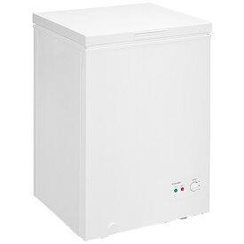 アイリスオーヤマ IRIS OHYAMA 冷凍庫 ホワイト ICSD-10B-W [1ドア /上開き /100L]