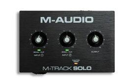 M-AUDIO エムオーディオ USBオーディオインターフェース M-Track Solo