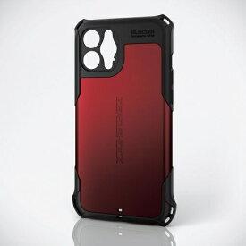 エレコム ELECOM iPhone 12 Pro Max ハイブリッドケース ZEROSHOCK 超極み レッド PMCA20CZEROKRD