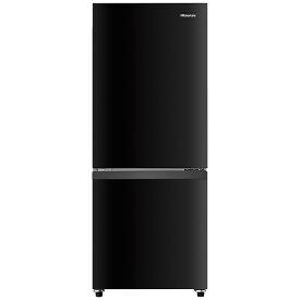 ハイセンス Hisense 冷蔵庫 パールブラック HR-D15EB [2ドア /右開きタイプ /154L][冷蔵庫 一人暮らし 小型 新生活]