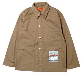 UNIVERSAL OVERALL メンズ ジャケット COVERALL(Lサイズ/ベージュ)U7434225
