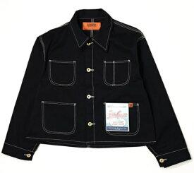 UNIVERSALOVERALL レディース ジャケット SHORT COVERALL(Fサイズ/ブラック)U912413【rb_outdoor】