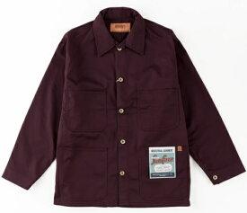 UNIVERSAL OVERALL ユニバーサルオーバーオール メンズ ジャケット COVERALL(Lサイズ/バーガンディー)U7434225【rb_outdoor】
