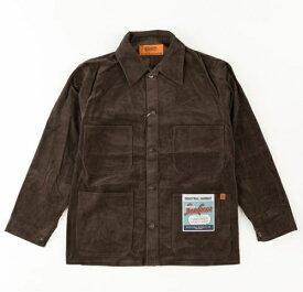 UNIVERSAL OVERALL ユニバーサルオーバーオール メンズ ジャケット COVERALL CORDUROY(Sサイズ/ブラウン)U2034225A【rb_outdoor】