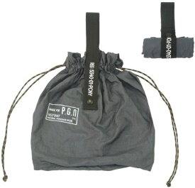 CREER パッカブル パラシュートナイロンバッグ PACKABLE PARACHUTE NYLON BAG(W300×H390mm/ブルーグレー) 982140008