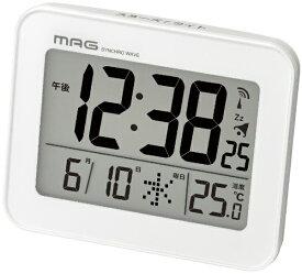 ノア精密 NOA 目覚まし時計 MAG T-761 WH-Z