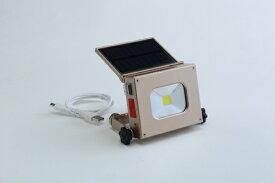 富士商 FUJISHO ソーラーパワーLEDライト [LED /充電式]