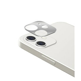 エレコム ELECOM iPhone 12 mini カメラレンズカバー アルミフレーム シルバー PM-A20AFLLP2SV