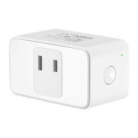 MEROSS スマート電源プラグ 1口 Google Home / Amazon Alexa / LINE Crova正式認証 スマート電源プラグ 1口 ホワイト MSS110JP