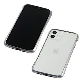 【2021年1月下旬】 DEFF ディーフ 【iPhone用アルミバンパー】CLEAVE Aluminum Bumper for iPhone 12 mini DCB-IPCL20SASV シルバー